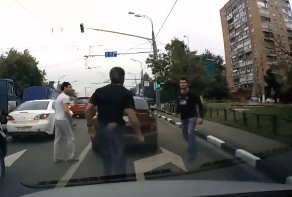 Wigan fan in Russian road rage incident