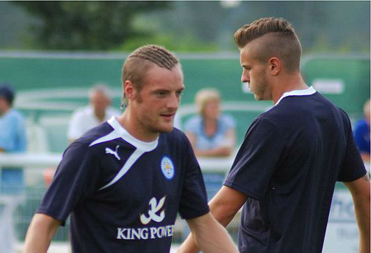 Leicester City's Jamie Vardy used to have dreadlocks
