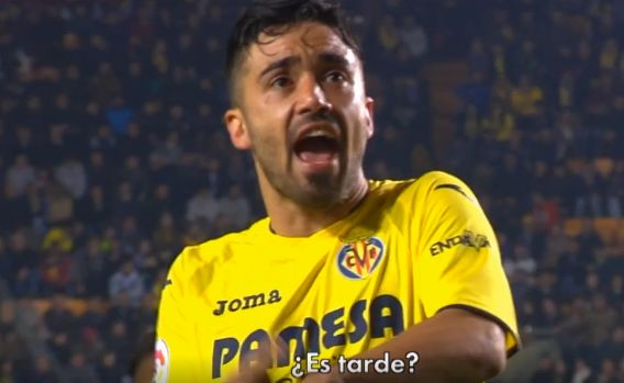 Villarreal's Jaume Costa tells fans off for leaving early during match against Real Madrid