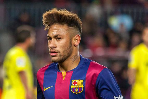 Neymar scored in Barcelona 6-1 PSG