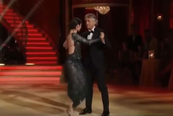 Roberto Mancini dances the tango on Dancing with the Stars