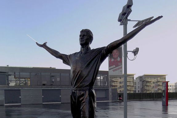 Statue of Tony Adams, new manager of Granada