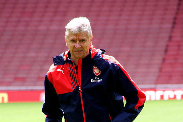 Arsenal manager Arsène Wenger