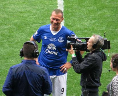 Former Everton striker Duncan Ferguson