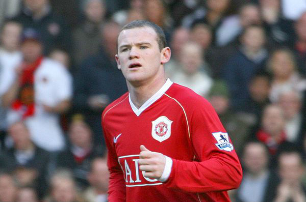 Wayne Rooney was arrested for drunkenly racing Darron Gibson