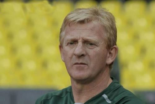 Gordon Strachan will not be amused by jokes as Scotland fail to qualify for World Cup 2018 following a 2-2 draw in Slovenia