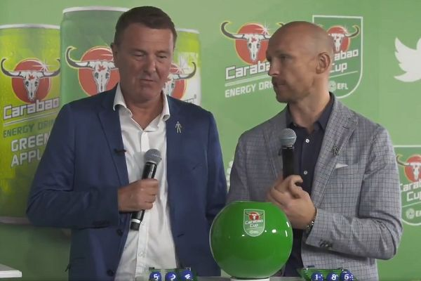 There were all sorts of Carabao Cup quarter-final draw jokes after the delay and technical difficulties