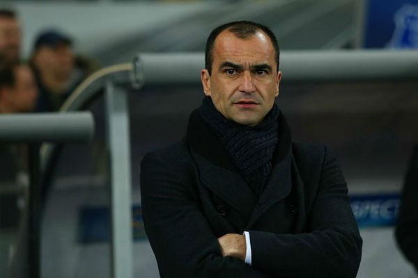 Belgium manager Roberto Martínez