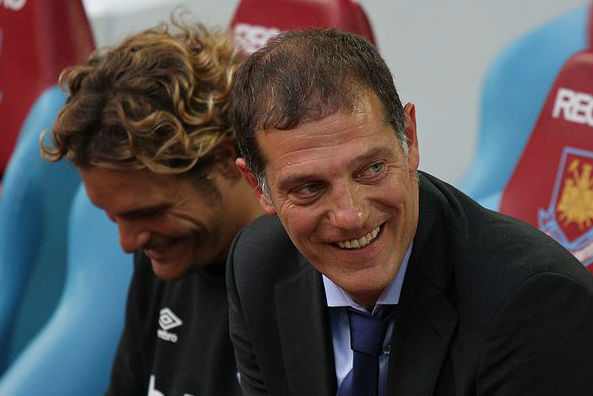 West Ham manager Slaven Bilić