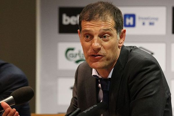 Slaven Bilić before he was sacked as West Ham manager and replaced with David Moyes