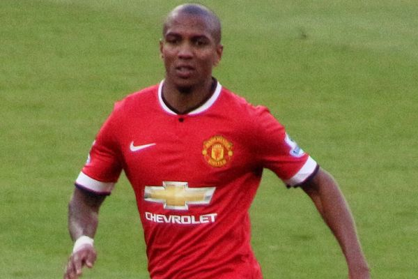 Ashley Young can afford a giggle at the jokes after his two goals at Watford