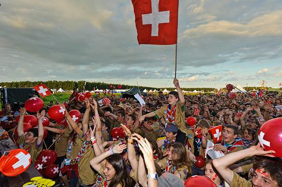 The Swiss celebrate as others make jokes about their defeat of Northern Ireland in the World Cup play-off