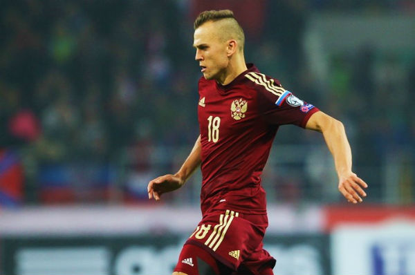 Denis Cheryshev is one of our McDonald's FIFA World Cup Fantasy tips for midfielders in Round 3 of the official Russia 2018 fantasy football