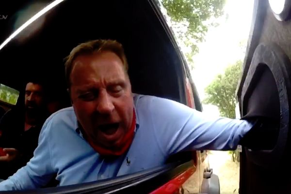 Harry Redknapp's first day on I'm A Celebrity... Get Me Out Of Here! prompted many jokes