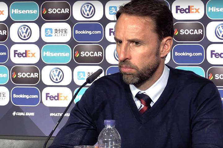 Gareth Southgate can relax with the funny tweets and jokes as England beat Switzerland on penalties after a 0-0 draw in the Nations League third place play-off