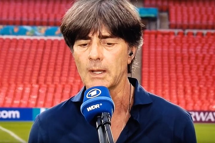 Joachim Löw won't want to see the tweets and jokes as Germany are knocked out of Euro 2020 by England following a 2-0 defeat at Wembley
