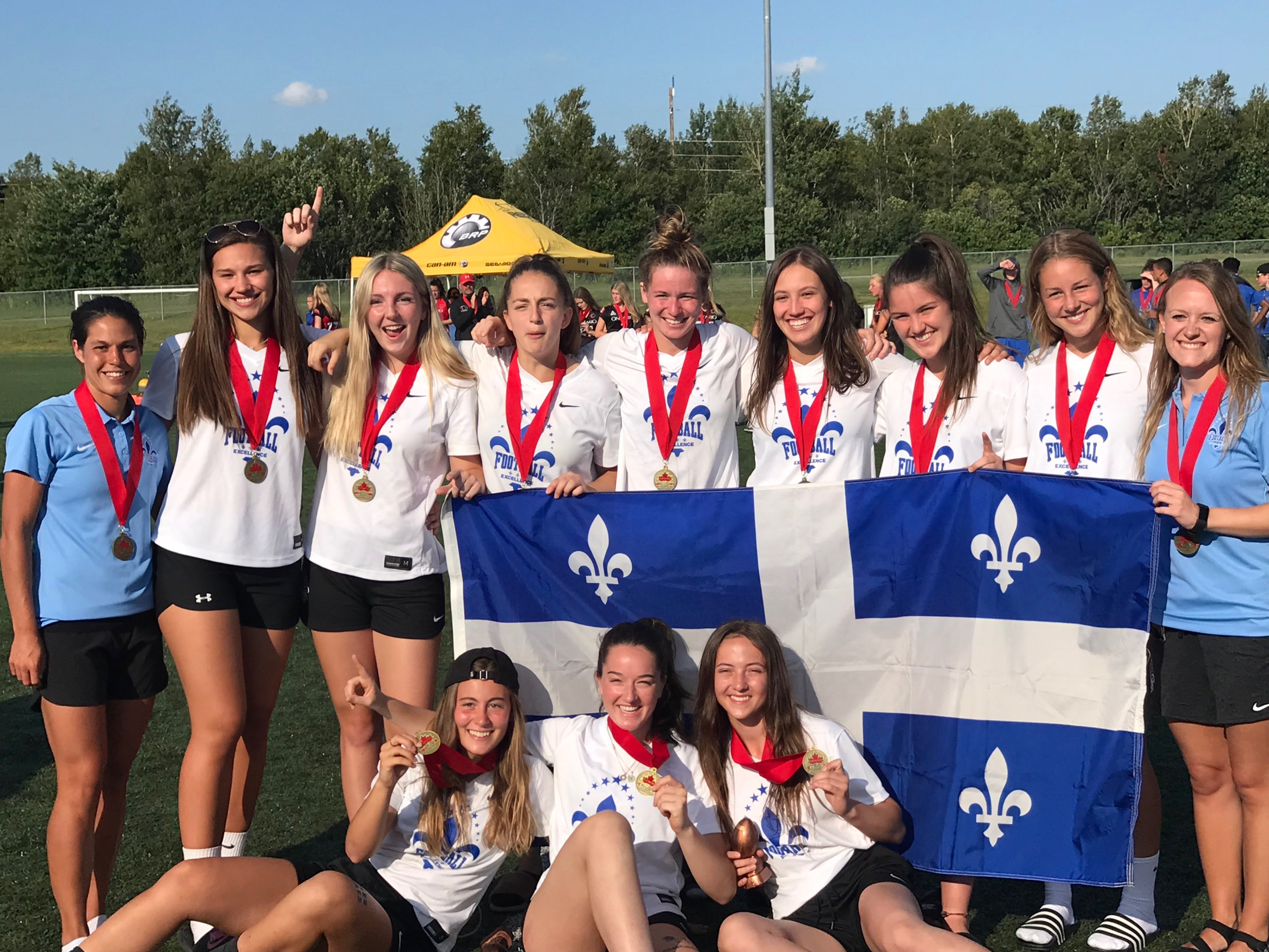 Quebec does clean sweep of gold, silver at Under-20 Flag Nationals