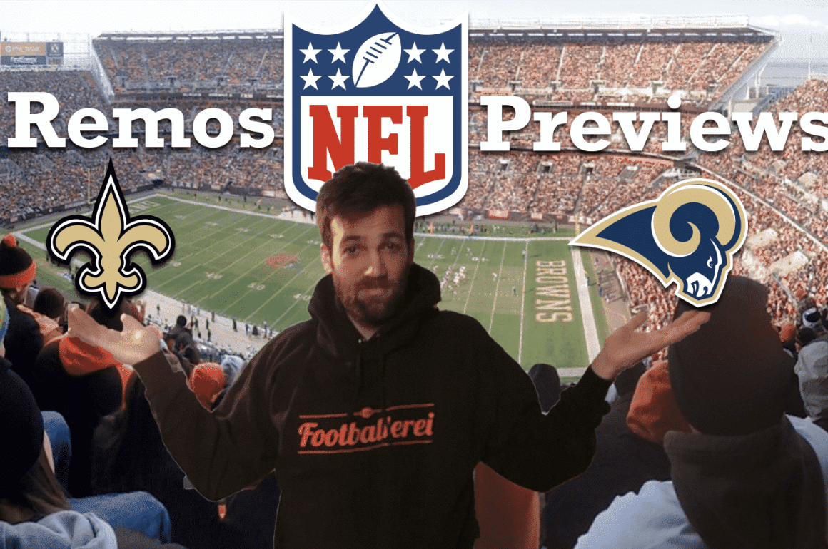 Remos NFL Week 12 Preview