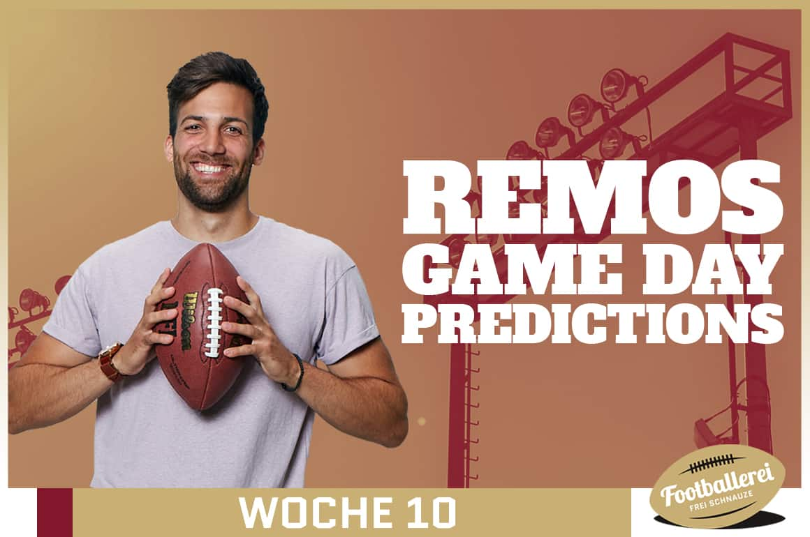 Der NFL Toilet-Bowl – Remos Week 10 Predictions