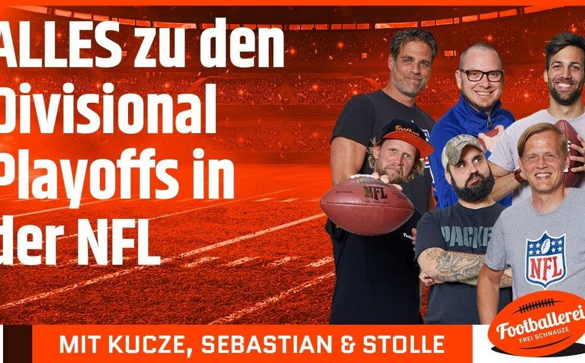 ALLES zu den Divisional Playoffs in der NFL