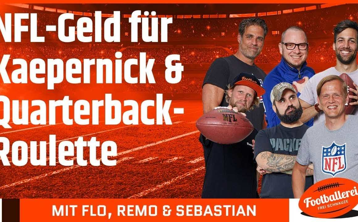 NFL-Geld für Kaepernick & Quarterback-Roulette