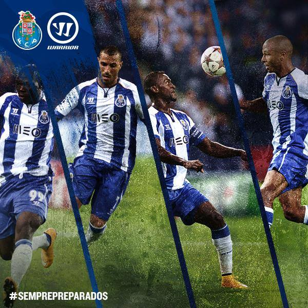 Warrior signs FC Porto. Teases 2014 2015 Home Kit
