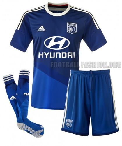 Olympique Lyon 2014 2015  adidas Football Kit, Soccer Jersey, Maillot