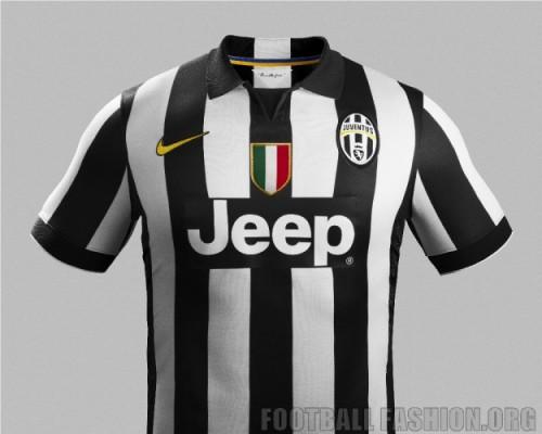separation shoes b6aa2 e5ff8 Juventus 2014/15 Nike Home and Away Kits - FOOTBALL FASHION.ORG
