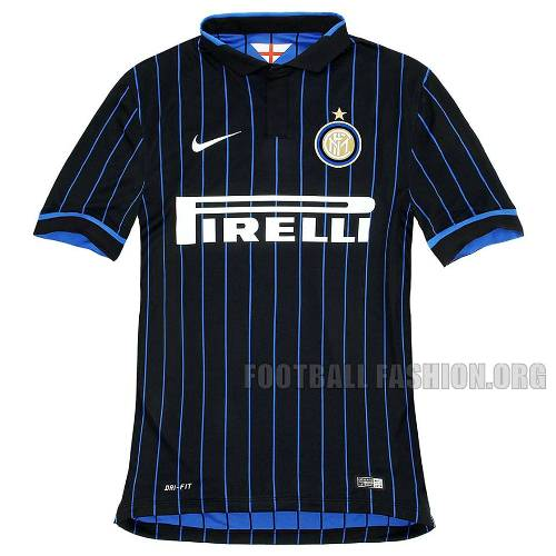 Inter Milan 2014 2015 Nike Home Football Kit, Soccer Jersey, Maglia