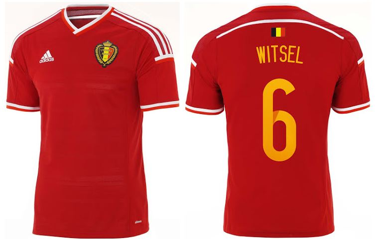 0971a43ea Belgium Signs with adidas. 2014/16 Kits Unveiled. - FOOTBALL FASHION.ORG