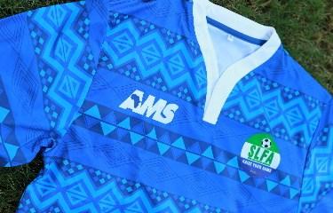 Sierra Leone 2014 2015 AMS Away Football Kit, Shirt, Soccer Jersey