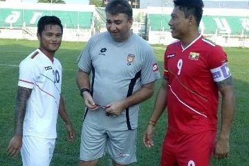 Myanmar 2014 2015 Lotto Home and Away Football Kit, Soccer Jersey, Shirt