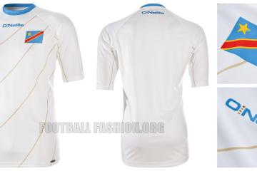 DR Congo 2015 Africa Cup of Nations Soccer Jersey, Football Kit, Shirt, Maillot