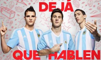 Argentina Copa-America 2015 2016 adidas Soccer Jersey, Football Kit, Shirt, Camiseta de Futbol, Playera, Equipacion