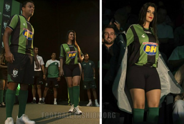 América MG Futebol Clube 2015 Lupo Home, Away and Third Football Kit, Soccer Jersey, Shirt, Camisa