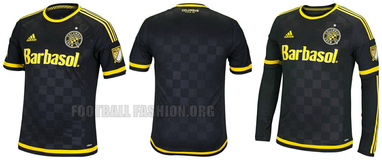 9d17d4289d6 Columbus Crew SC 2015 adidas Home and Away Soccer Jersey, Camiseta de  Futbol, Kit