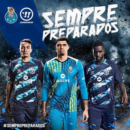 FC Porto 2014 2015 Warrior Away Football Kit, Soccer Jersey, Camisola