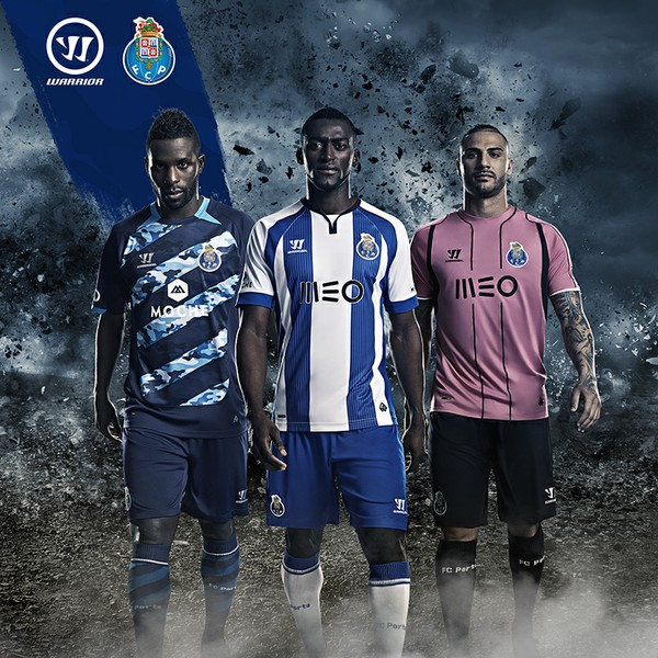 FC Porto 2014 2015 Warrior Third Football Kit, Soccer Jersey, Camisola