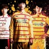 Gwangju FC 2015 Arbol Home and Away Football Kit, Soccer Jersey, Shirt