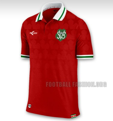 Suriname 2015/16 Klupp Home and Away Football Kit, Soccer Jersey, Shirt, Tenue