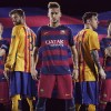 FC Barcelona2015 2016 Hooped Nike Home and Away Football Kit, Soccer Jersey, Shirt, Camiseta de Futbol, Equipacion, Playera