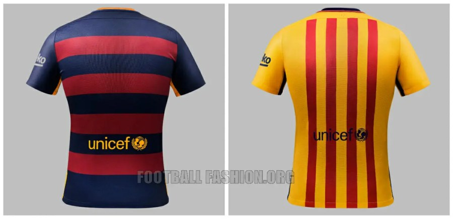sale retailer 2b7b8 47074 FC Barcelona Unveil New Look with 2015/16 Nike Home and Away ...