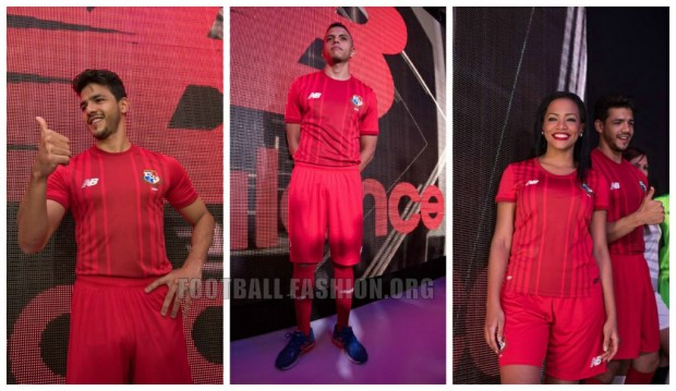 Panama 2015 2016 New Balance Home and Away Football Kit, Soccer Jersey, Shirt, Camiseta de Futbol del Sele