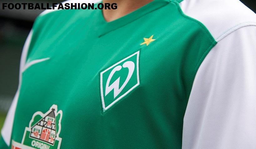 bbdcfef1429 Werder Bremen 2015 16 Nike Home Kit - FOOTBALL FASHION.ORG