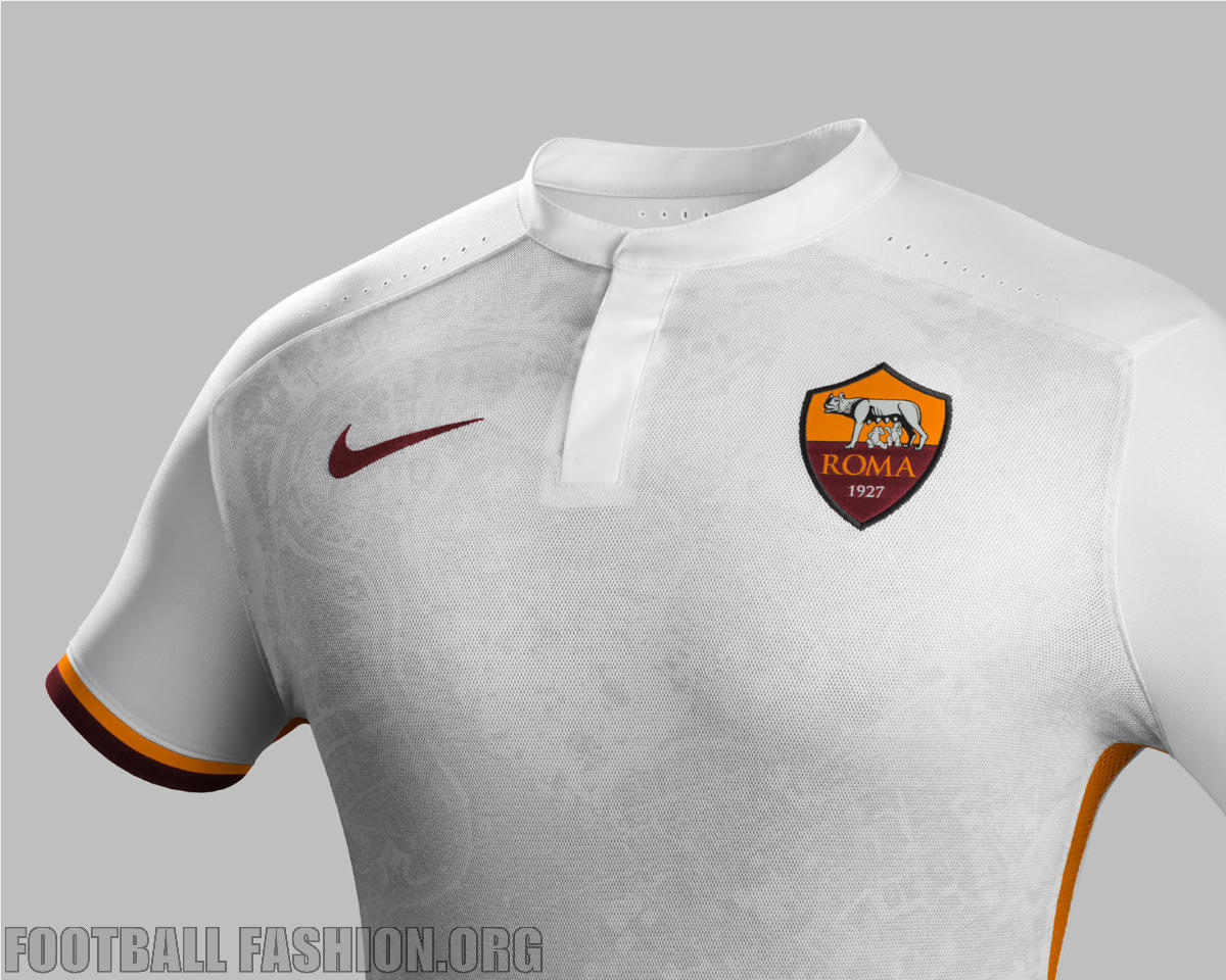 AS Roma 2015 16 Nike Away Kit – FOOTBALL FASHION.ORG 1971a7fa8