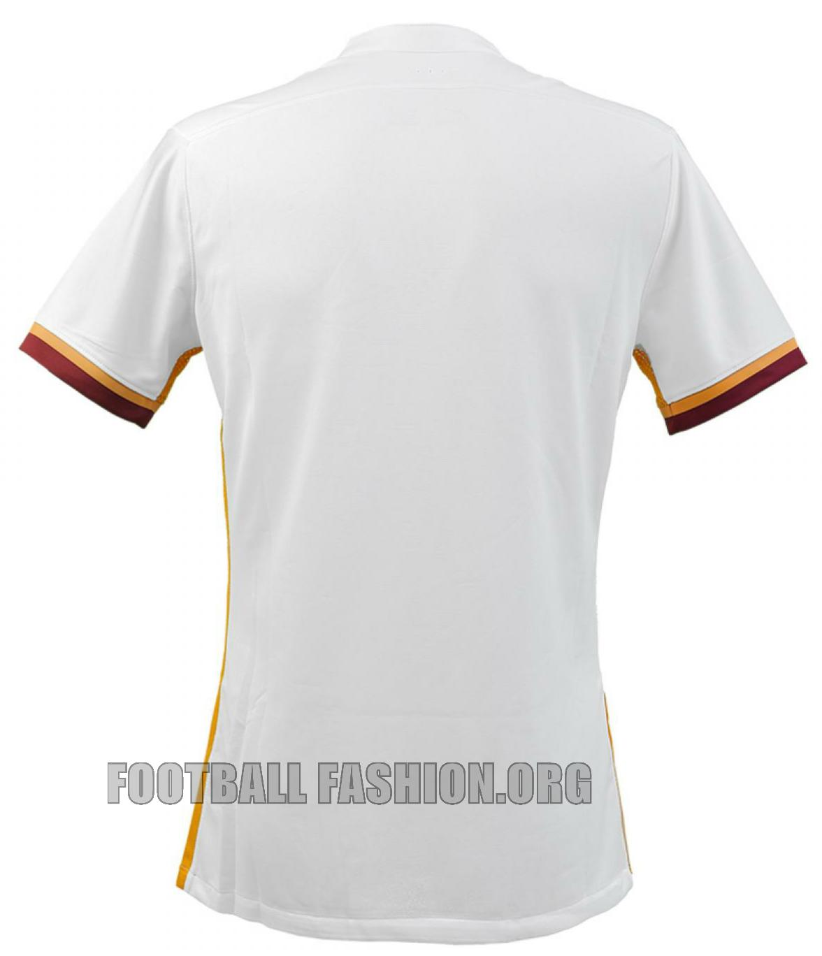 50c6d594381 AS Roma 2015 16 Nike Away Kit - FOOTBALL FASHION.ORG