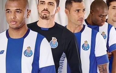 FC Porto 2015 2016 Blue White New Balance Home Football Kit, Soccer Jersey, Shirt, Camisola, Camisa, Camiseta