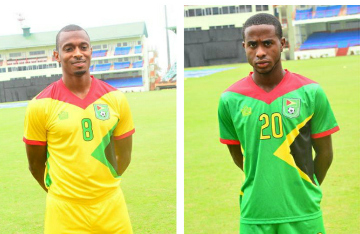 Guyana 2015 2016 Admiral Home and Away Football Kit, Soccer Jersey, Shirt