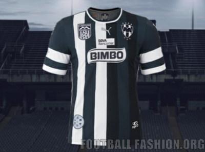 Rayados de Monterrey 70th Anniversary PUMA Soccer Jersey, Kit, Shirt, Camiseta conmemorativa por el 70º aniversario de Rayados