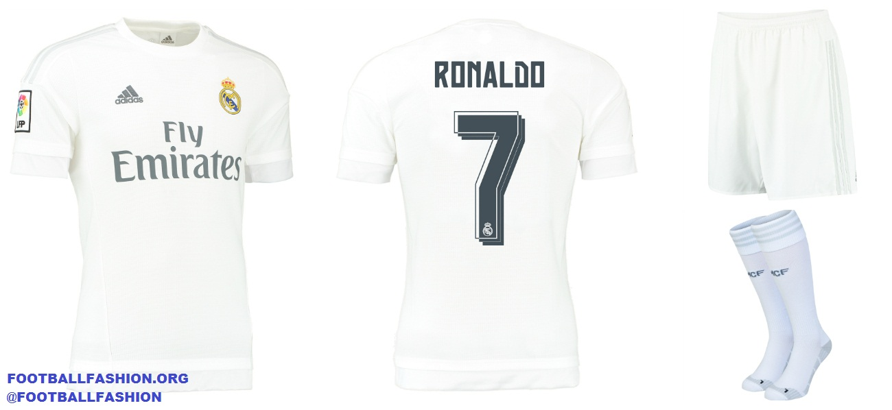 99a02b84e adidas Unveils Real Madrid 2015 16 Home and Away Kits - FOOTBALL ...